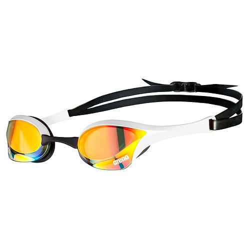 ARENA Cobra Ultra Swipe Mirror Goggles (Clear Lenses) - 310
