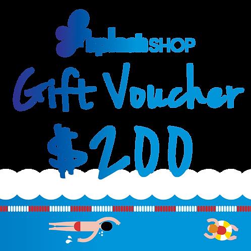 $200 SplashShop Voucher