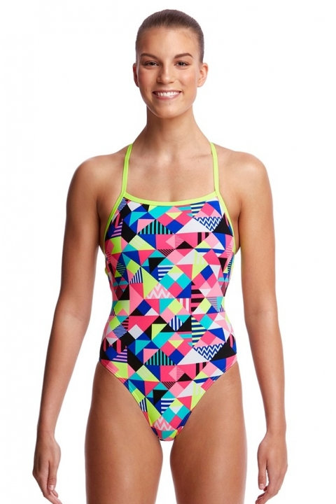 FUNKITA Ladies Strapped In (Purple Patch)