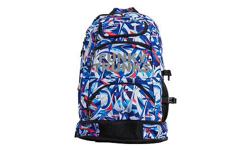 FUNKY TRUNKS Elite Squad Backpack (Futurismo)