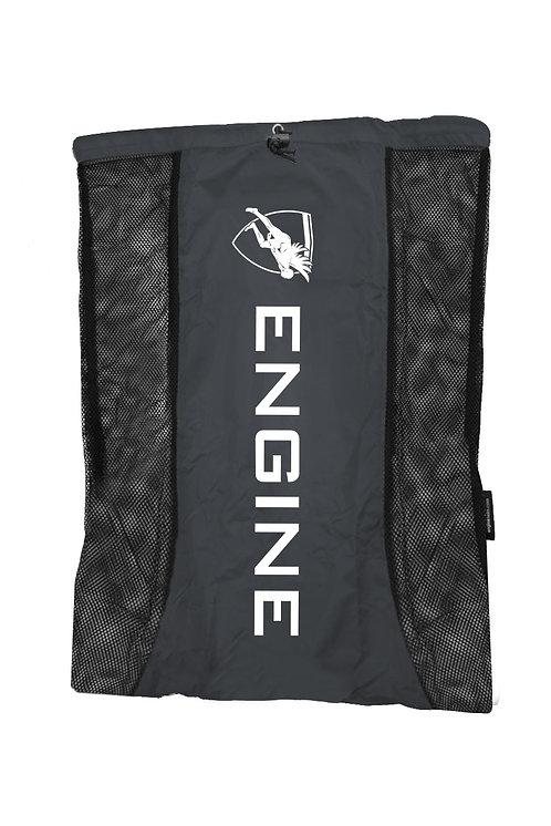 Engine Mesh Backpack (Black)