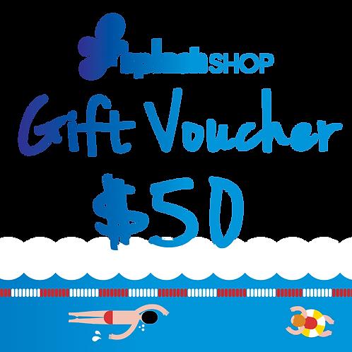 $50 SplashShop Voucher