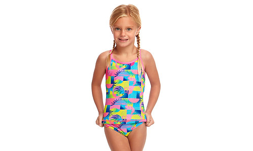 FUNKITA TODDLER GIRLS PRINTED ONE PIECE (Sunkissed)