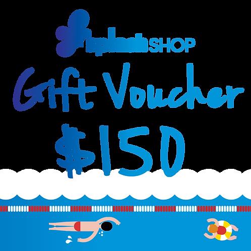 $150 SplashShop Voucher