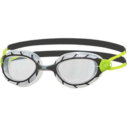 Zoggs Predator Goggles - Clr/Black/Lime