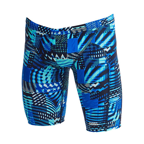 FUNKY TRUNKS Boys Training Jammers (Electric Nights)
