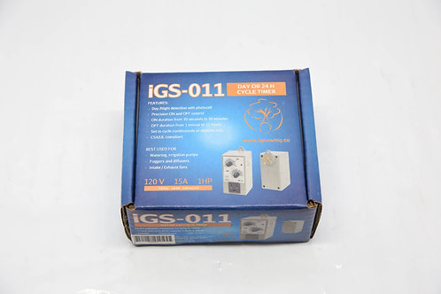 IGS-011 Day or 24h Cycle Timer W/Photocell
