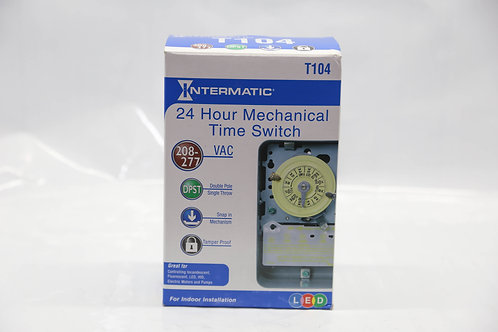24 Hour Mechanical Time Switch-Intermatic T104