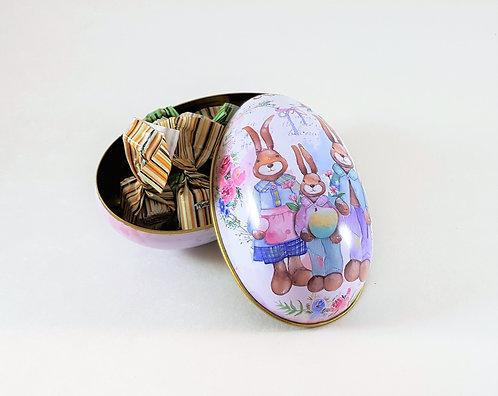 großes Blech Ei, süß gefüllt