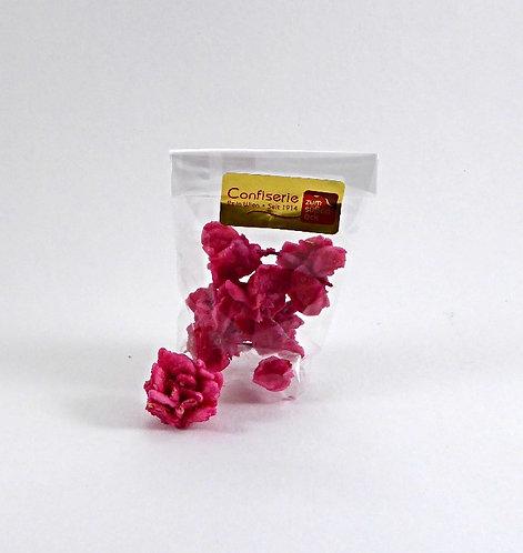 Kandierte Rosenblüten