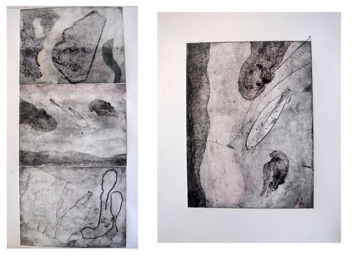 Landmarks Series, Callograph&Etching on Fabriano Paper, 150 euro per print