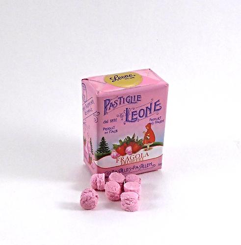 Leone Pastillen Erdbeer