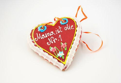 Lebkuchenherz Mama oder Oma