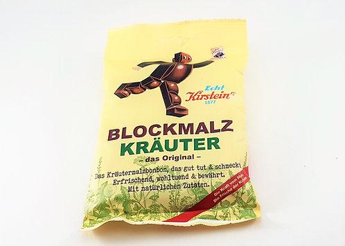 Kirstein Blockmalz dunkel mit Kräutern