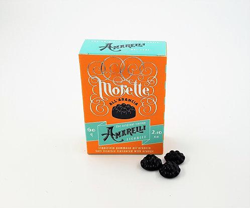 Amarelli Morette Orange 60g Box