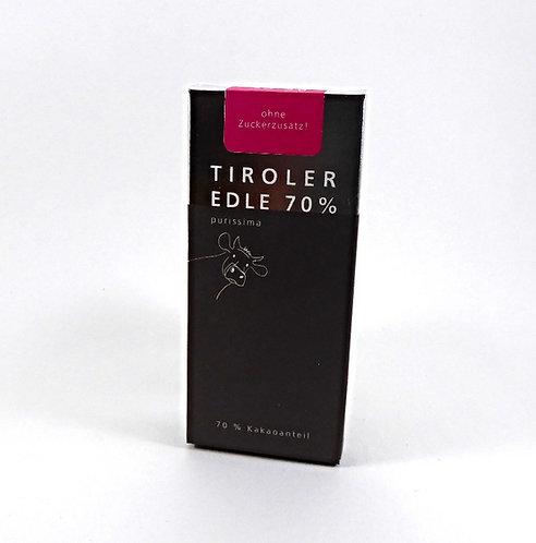 Tiroler Edle zuckerfrei 70%