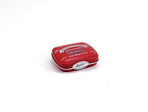 Amarelli, pur, Taschendose rot