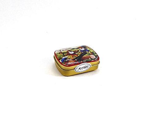 Amarelli pur mit Minze, Taschendose