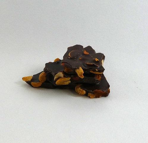 Erdnußschokolade Bitter