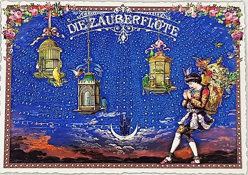 KunstPostkarte - die Zauberflöte