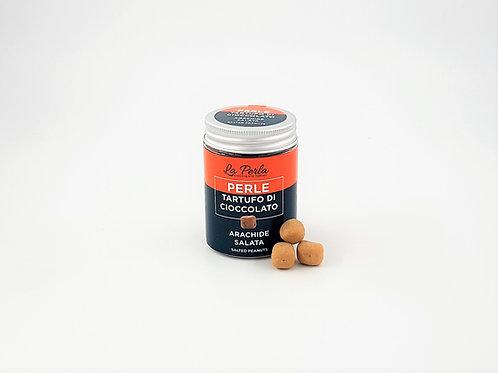 Mini Tartufo Perlen , gesalzene Erdnüße
