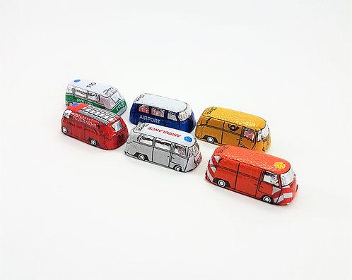 Schoko Busse - Einsatzfahrzeuge
