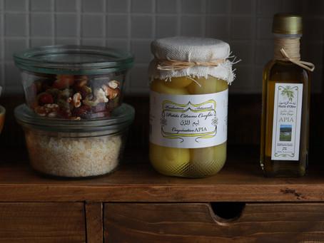 モロッコには行ったことがないけれどMoroccan Olive Oil and Salted Lemons