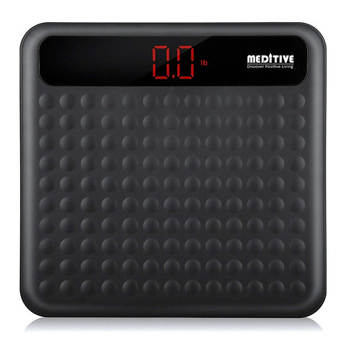 Digital Human Weighing Scale, High Quality Leather Look Fiber Body, Capacity 180