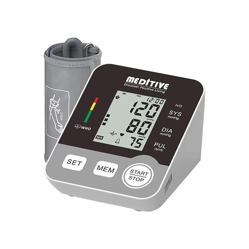 MEDITIVE Blood Pressure Monitor Fully Automatic Arm-type Digital with option for