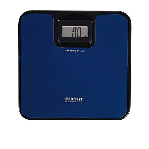 MEDITIVE Digital Human Weighing Scale for Body weight, Durable Unbreakable Metal