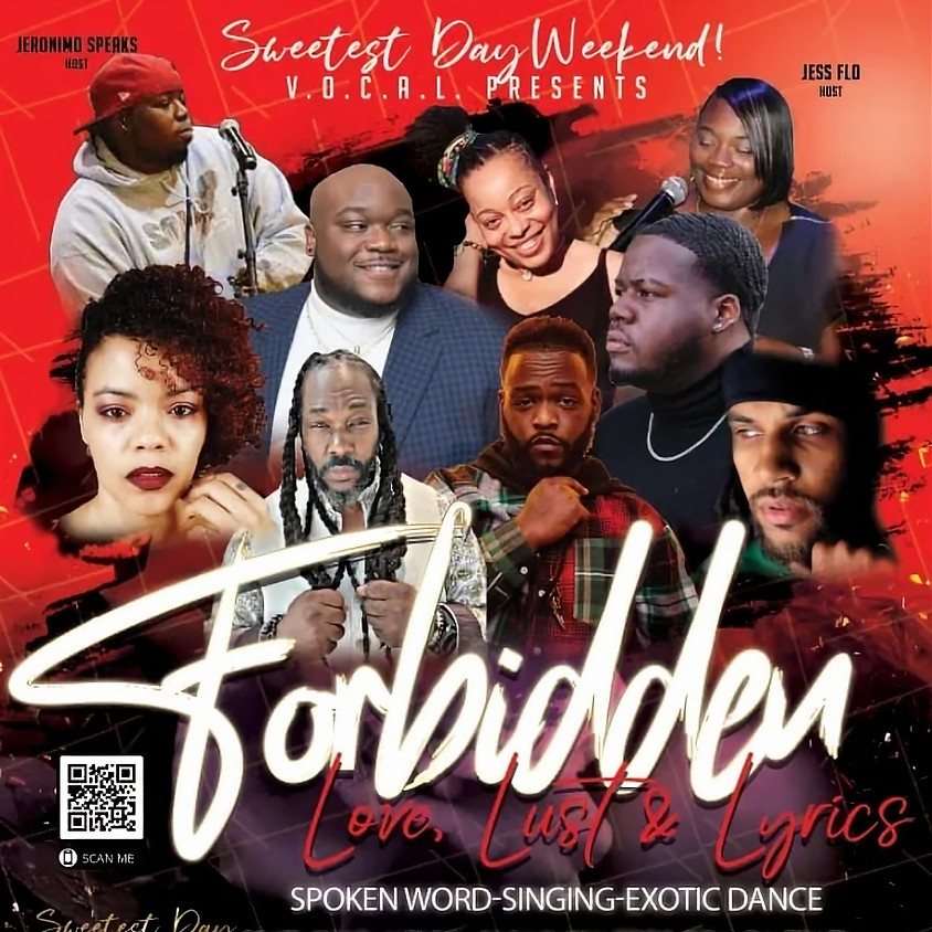 Sweetest Day Weekend V.O.C.A.L presents Forbidden