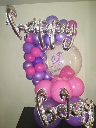Demi-Arch Balloon Arrangement