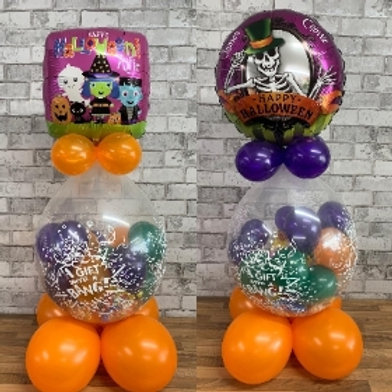 Halloween Candy stuffed balloons
