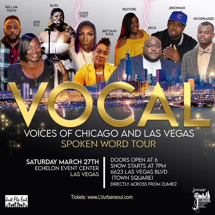 Vegas Edition of V.O.C.A.L Spoken Word Tour