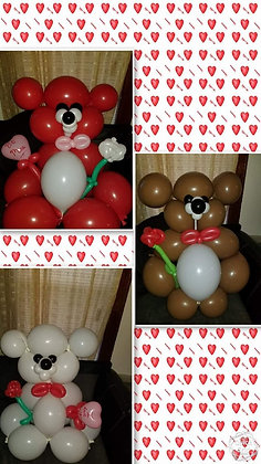 Valentine Teddy Delivery