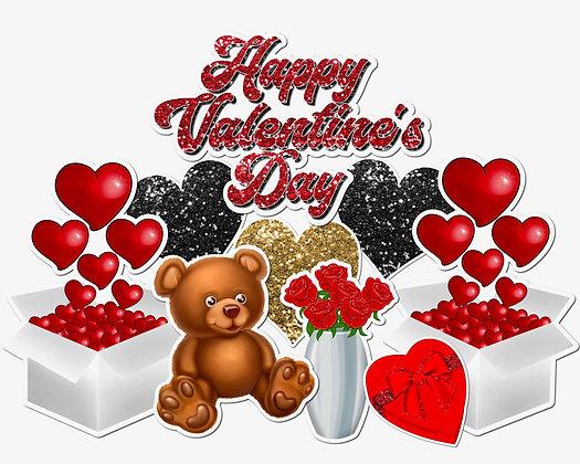 Valentine day Yard Cards