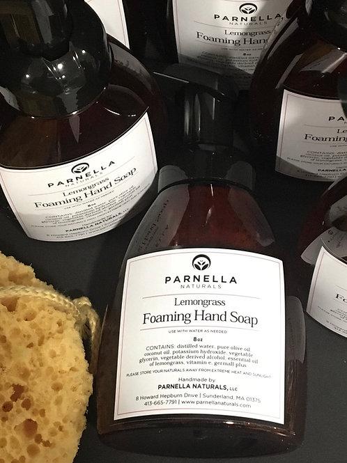 Lemongrass or Peppermint Foaming Hand Soap