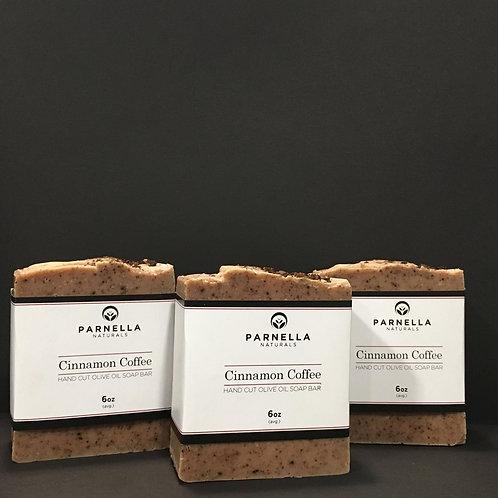 Cinnamon Coffee Soap Bar