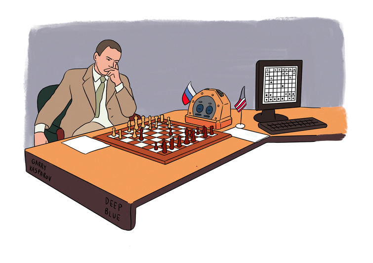 1997 Deep blue contre Kasparov