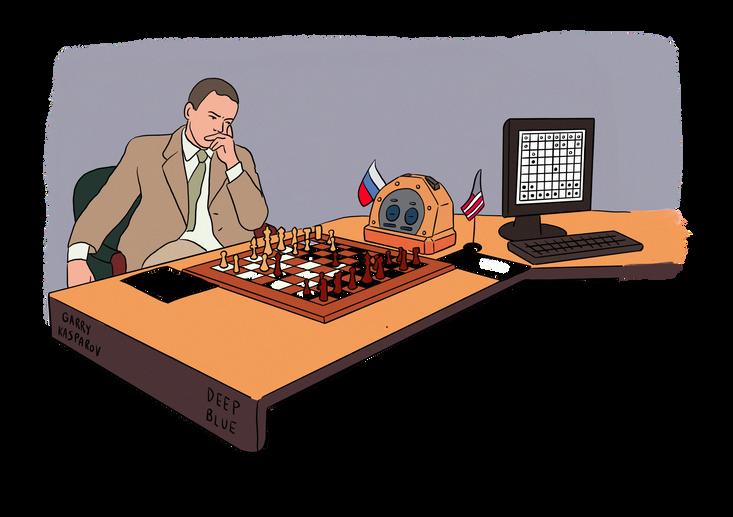 1997 Deep blue contre Kasparov