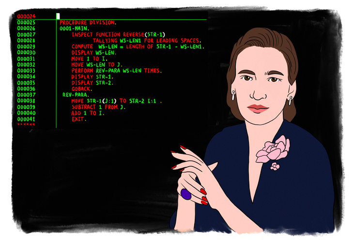1957 - Grace Hopper et le COBOL