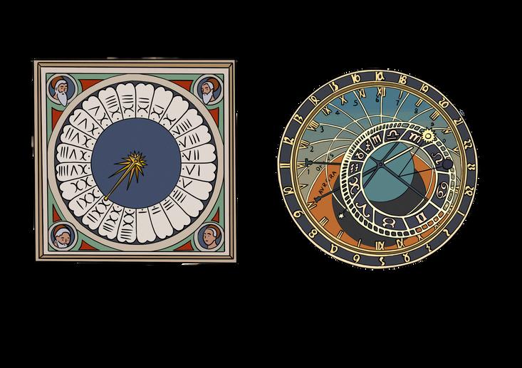 XIIIeme - Siècle de l'horlogerie