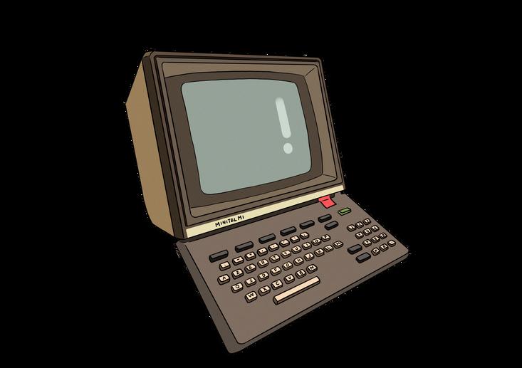 1982 Le minitel