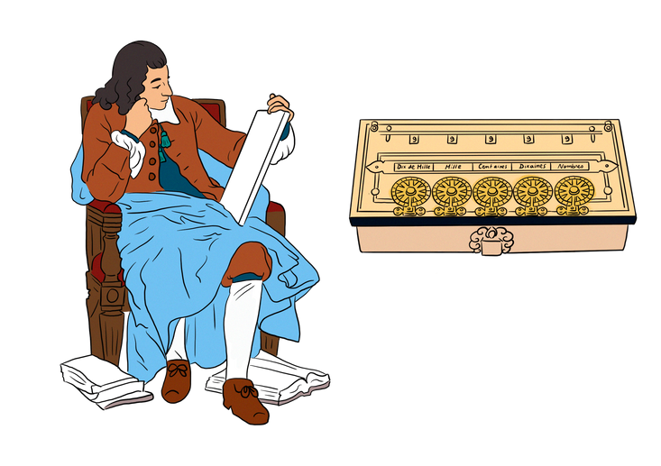 1623 et la calculette fut