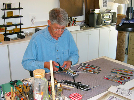 The Artist: Stephen Sidelinger at Work i