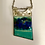 Thumbnail: Vitreous Enamel Necklace • Emerald Ocean