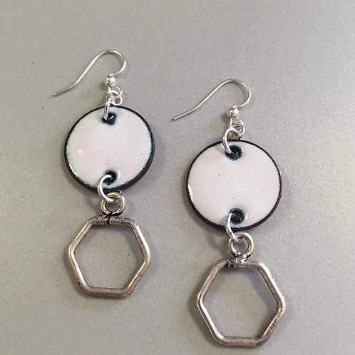 Blanca Enamel Earrings