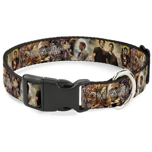 Supernatural Ipurgatory Four Character Pics Dog Collar with Plastic Breakaway