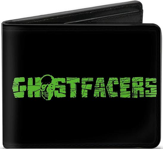 Supernatural Ipurgatory Ghostfacers Green Bi-Fold Wallet