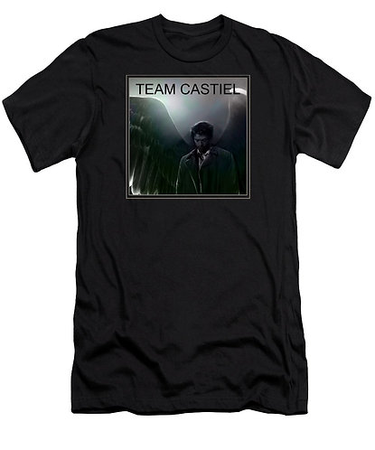 Supernatural Ipurgatory Team Castiel Picture Men's T-Shirt